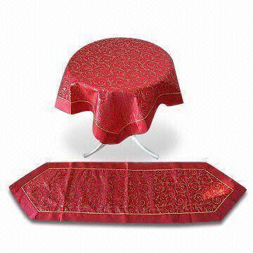 Face stamping table cloth
