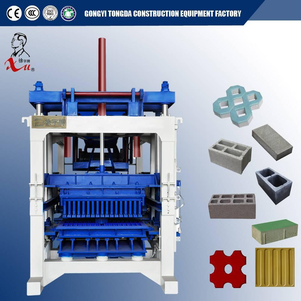 Automatic Concrete Interlocking Brick Making Machine