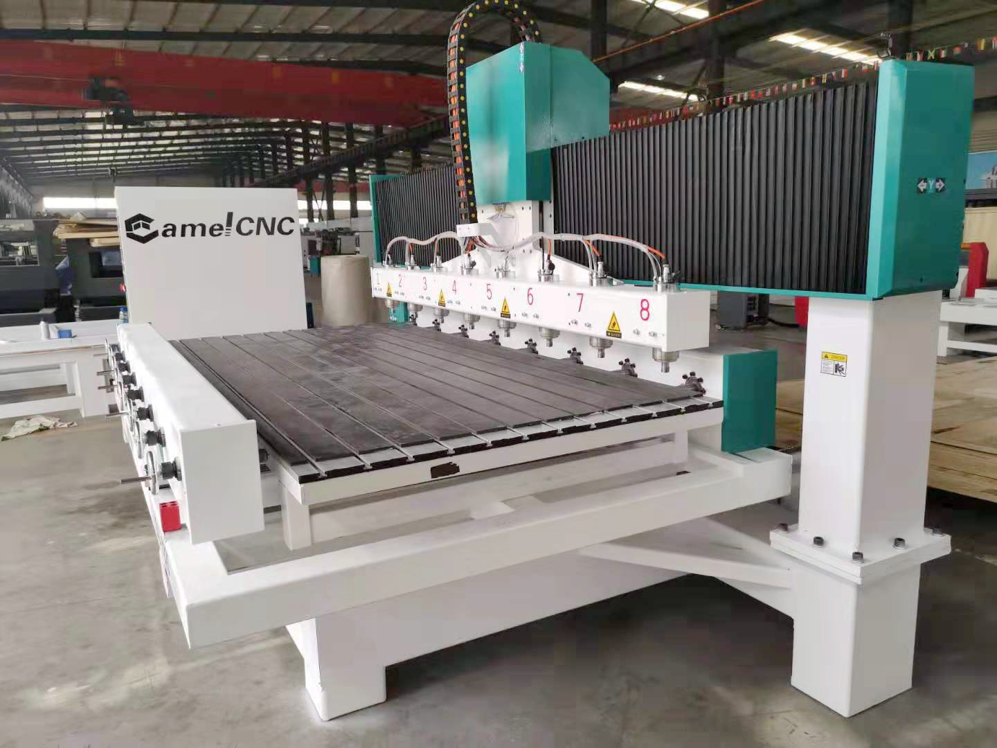 Multi Purpose CA-1225 Multi Heads CNC Router 4 Axis Wooden Chair Making Machine for Hot selling