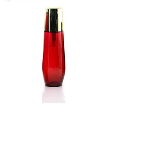 Rose Red Cosmetic Bottle