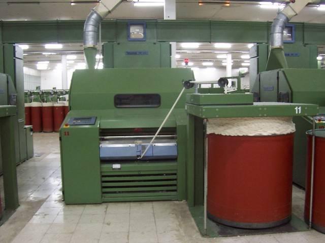 Blowroom,Carding,Drawframe,Ring Spinning Machines