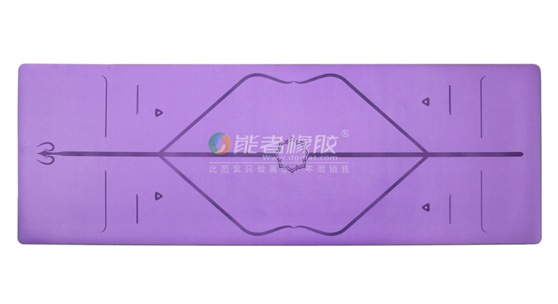 hot sale Eco friendly custom label PU yoga mat taking HK fair Yoga mat