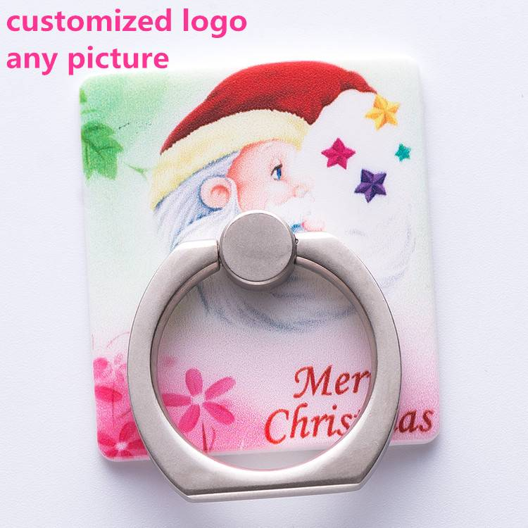 2016 Best promotion gift custom mobile holder ring, metal fashion holder ring