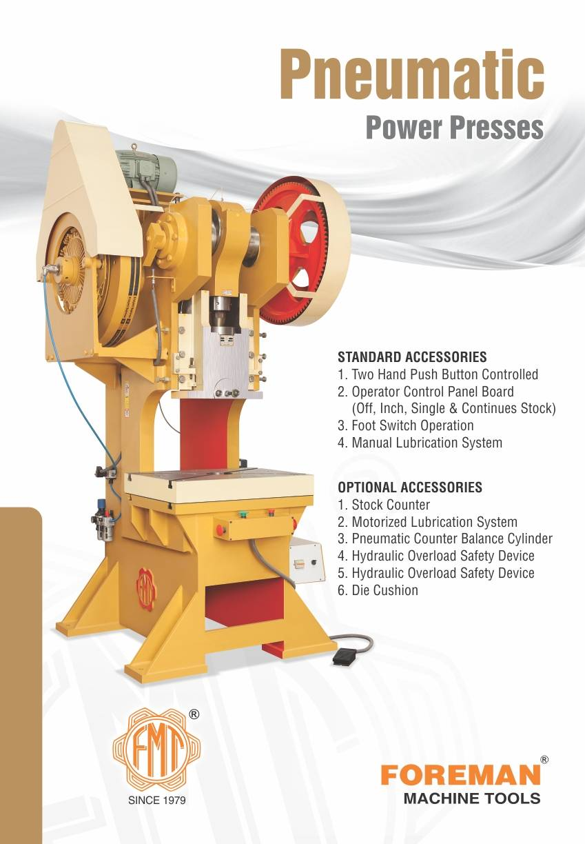 Steel Body Pneumatic Power Press