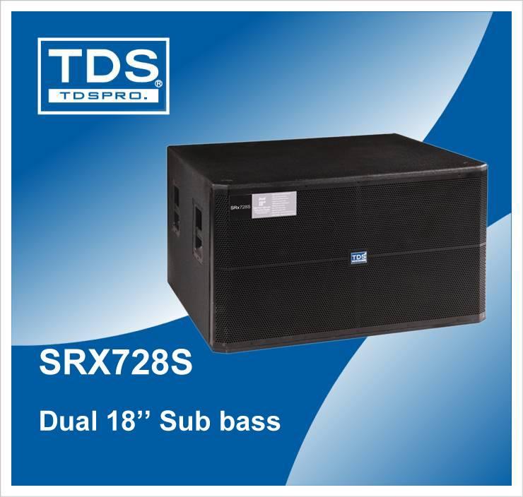 Jbl Style Powered Sub Woofer Dual 18 Inch with 2400W Peak(SRX728S)