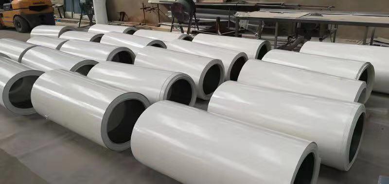 FRP gel coated flat sheet