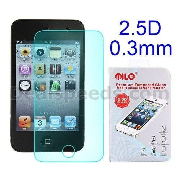 2.5D 0.3mm Tempered Glass for iPod Touch 4