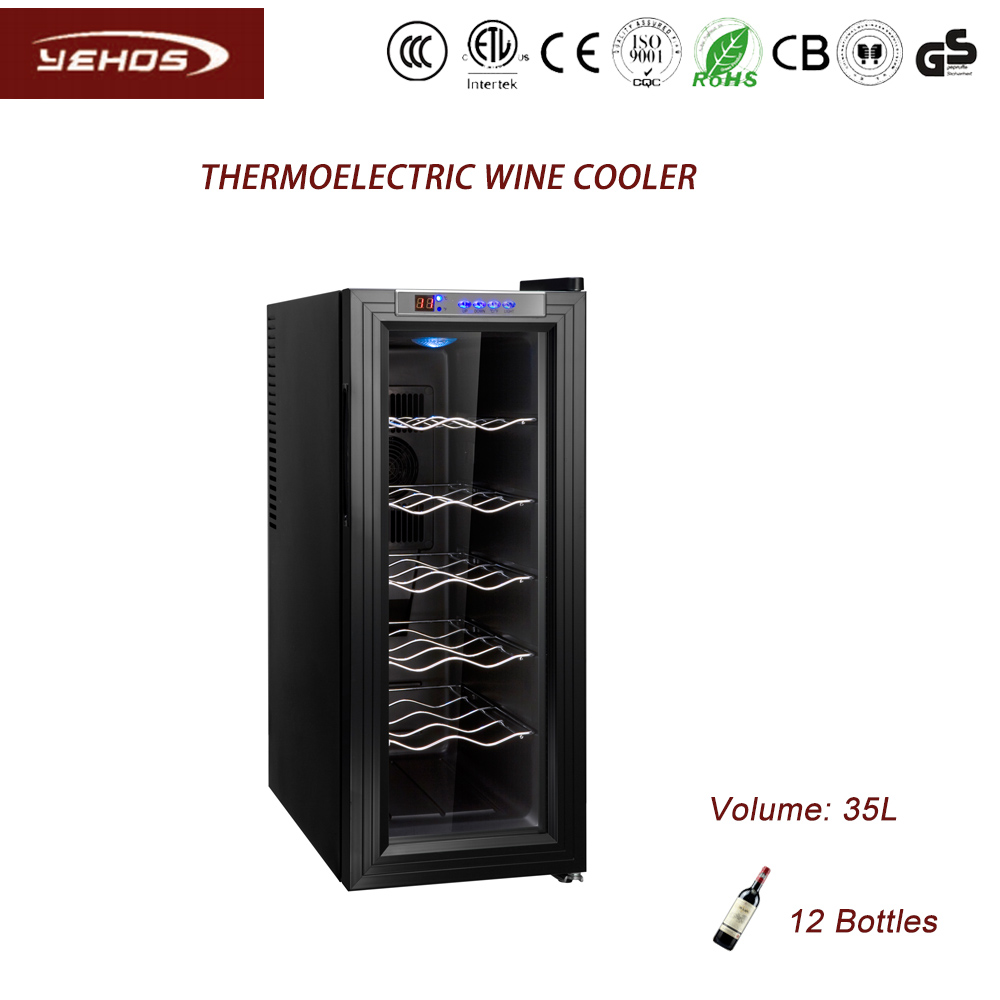 12 bottles mini wine refrigerators