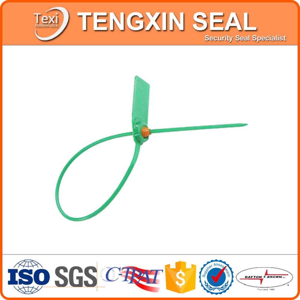 logistic bags pull tight plastic seal tie