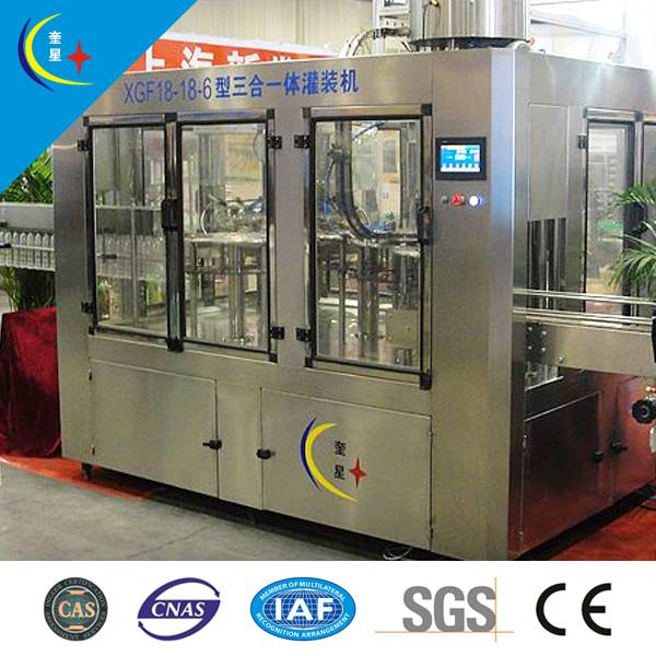 Three in one multifunction automatic washing filling capping machine (H)