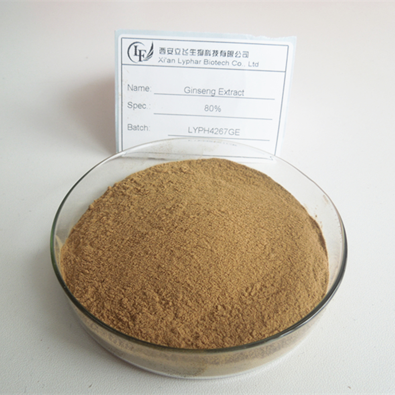 Low Pesticides Residues Panax Ginseng Extract 5%-80% Ginsenoside
