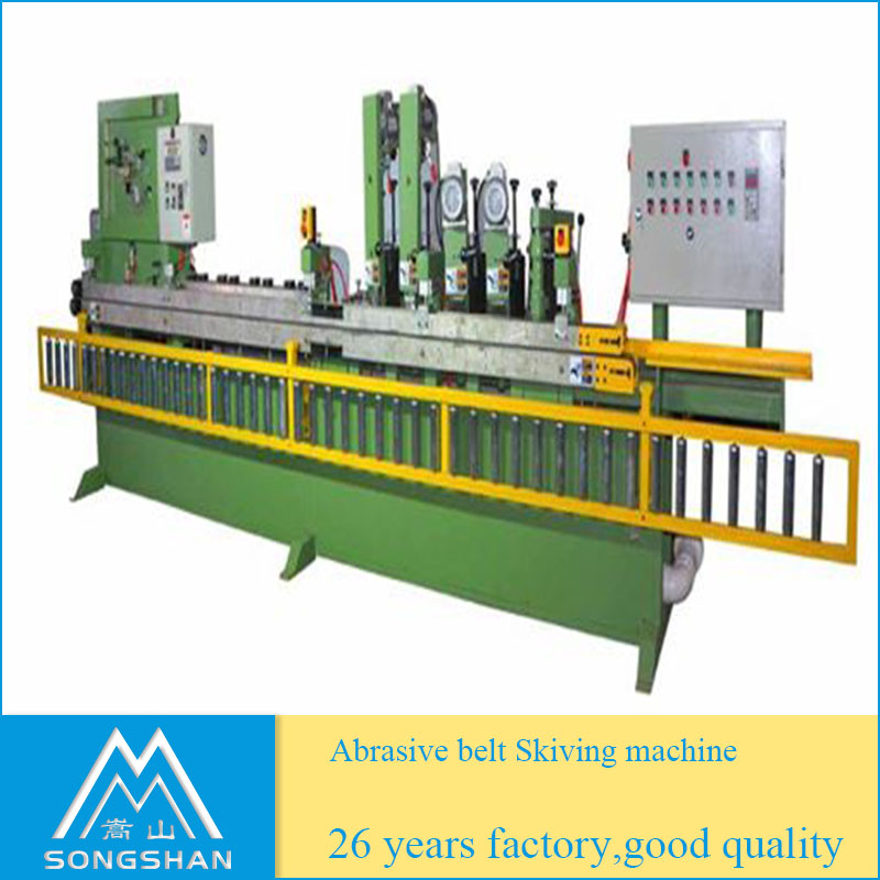 Abrasive Sanding Belt Skiving Machine For Sanding Belt Joint Making