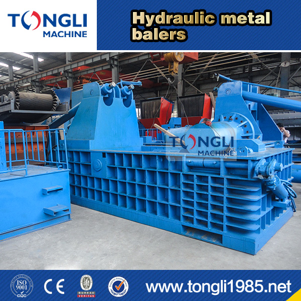 New design metal baling press/scrap metal baler for sale