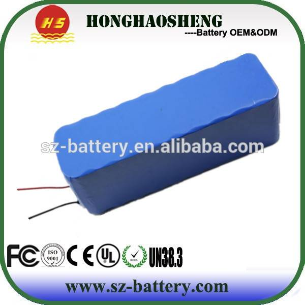 Long Cycle Time 18650 Rechargeable Battery 24V 13AH Battery