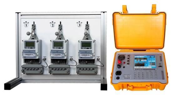 Portable Single Phase Energy Meter Testing Bench