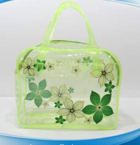High quality wholesale pvc fashion elegant clear makeup bag
