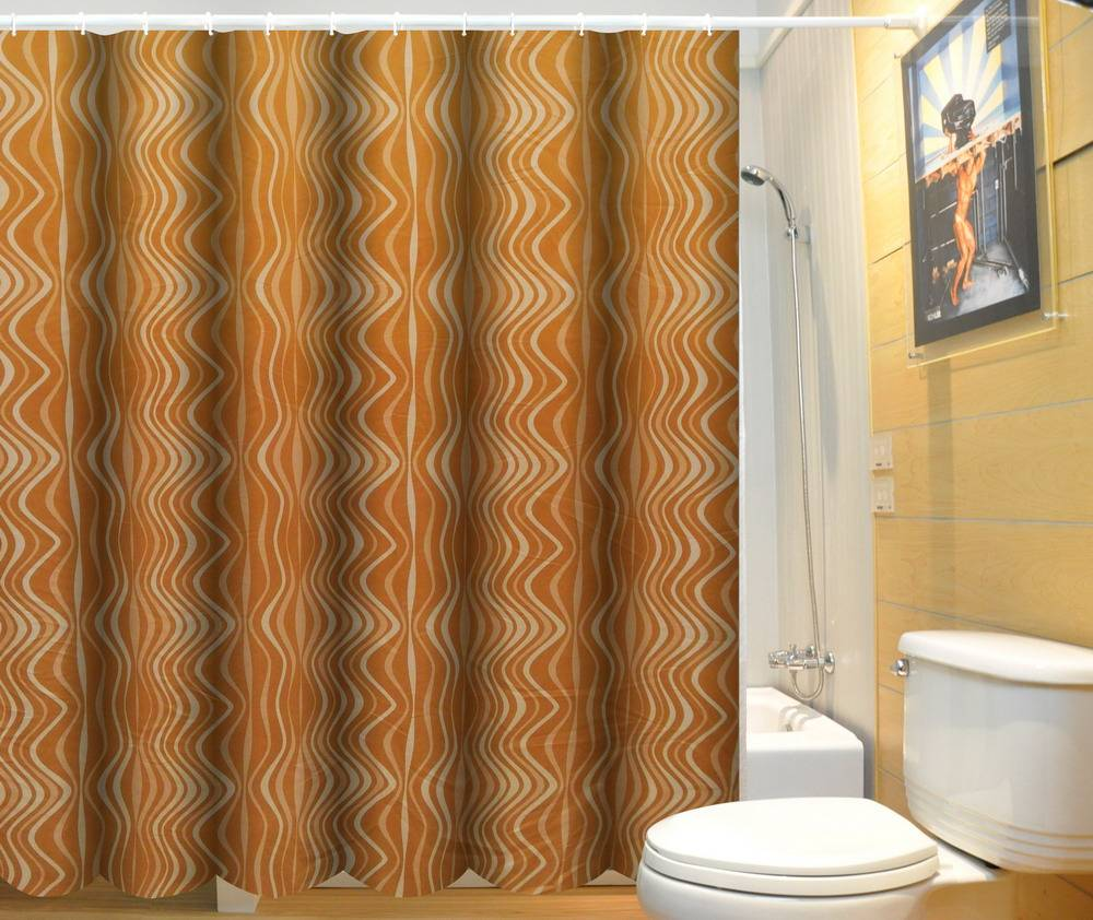 New fashion wholesale textiles custom shower curtain liners
