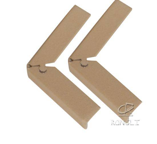 Durable recycled board protective paper corner protector