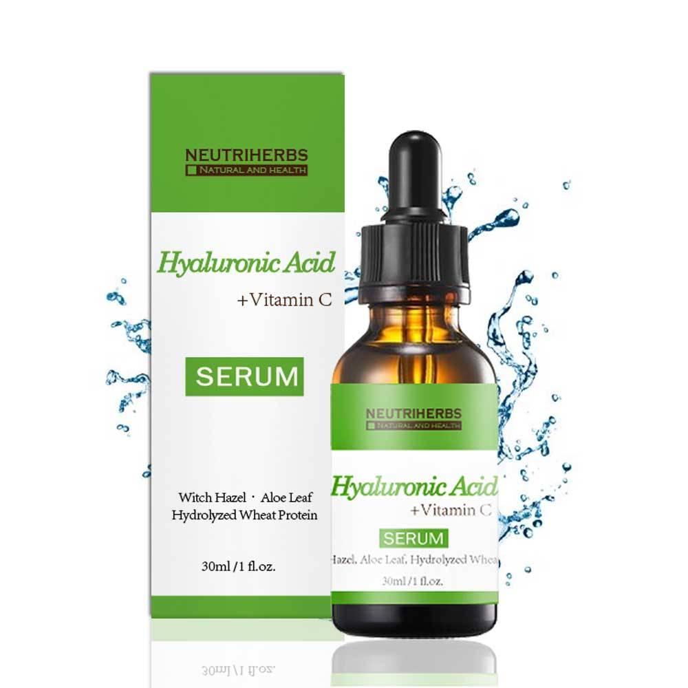 Natural Anti Aging Moisturizing Hyaluronic Acid Serum for skin