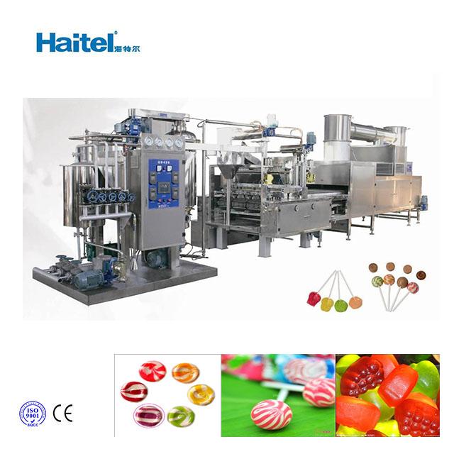 High quality automatic lollipop depositing machine