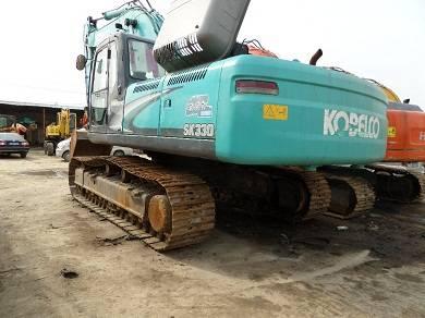 Used Kobelco SK330-8 Excavator