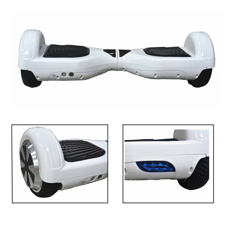 """6.5"""" White Two Wheels Electric Self Balancing Scooter"""