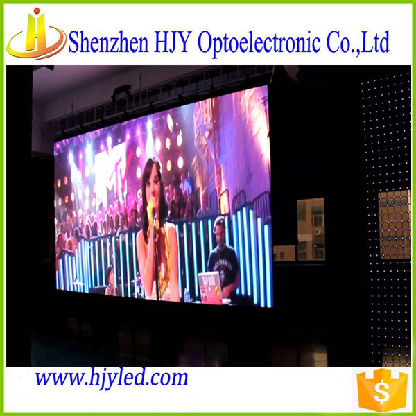 China indoor led display p7.62 customized size 7.62mm led screen