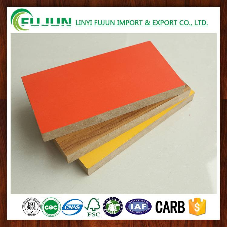 chinese factory supply good quality MDF board