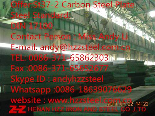 St37-2 Carbon Steel Plate|St37-2 Steel Sheet