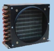 Pretty aluminum fin air cooled condenser coil