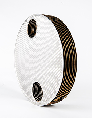 Plate And Shell Heat Exchanger Plate Pack