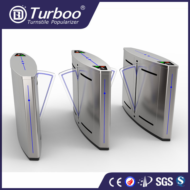 Turboo A222A:High quality retractable flap barrier gate