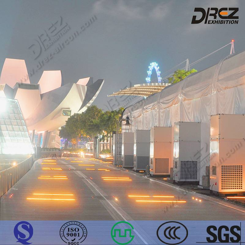 Drez 25hp/20 ton Central Cooling Commercial AC Unit for Outdoor Events with CE Certificate