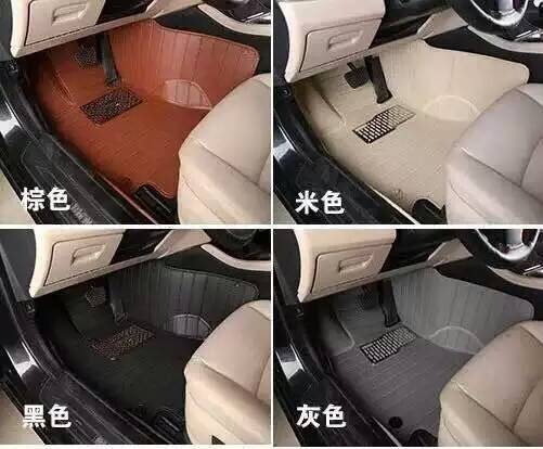 Anti skid 3D XPE material car foot mat