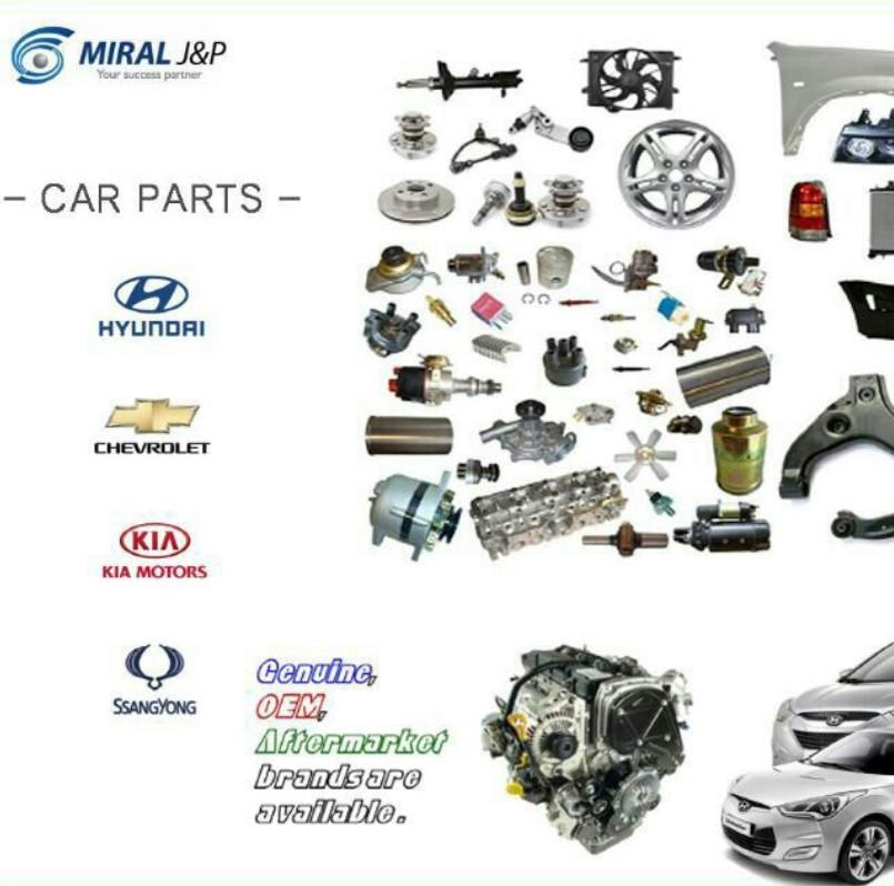 Korean Auto Spare Parts