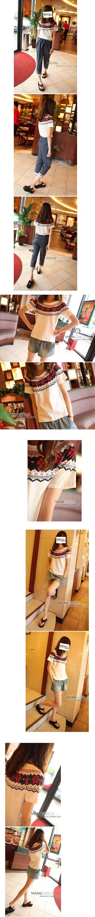 Sleeve length:short sleeve Product code: 80239 Pattern of fashion:wide and loose Clothes