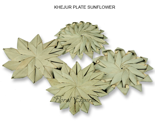 KHEJUR PLATE SUNFLOWER