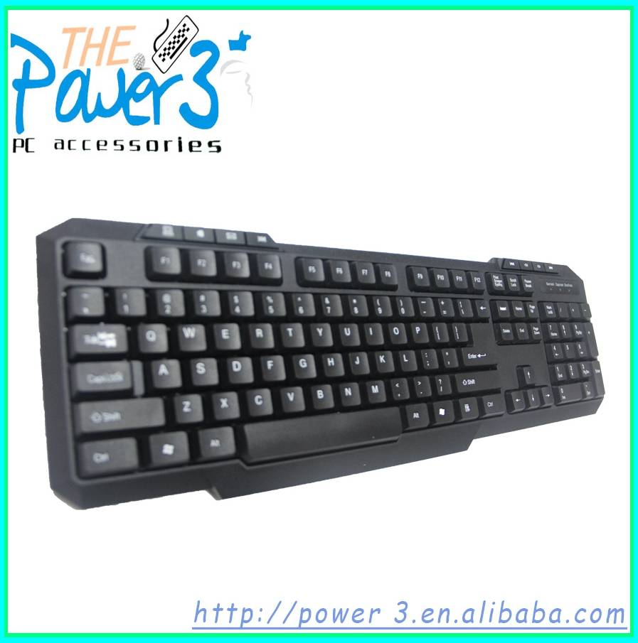 Computer Multimedia Arabic Keyboard with 20 Hot Keys