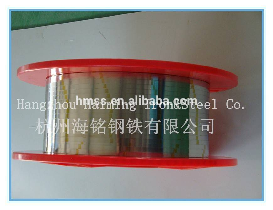 stainless steel strip for sealing strip skeleton