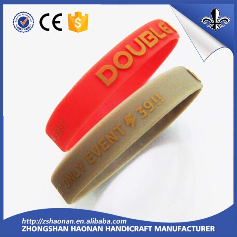 Personalized custom wristband silicone rubber wristband