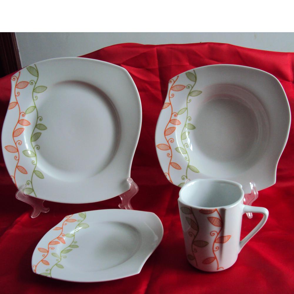 2016 new design ceramic dinner set