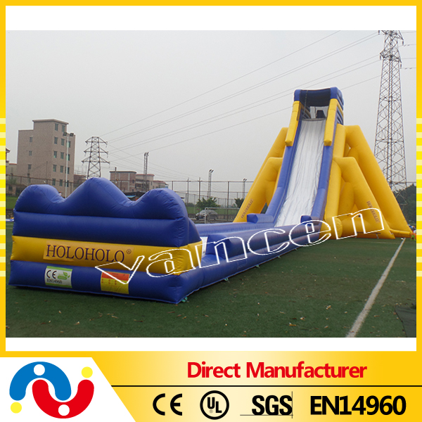 giant inflatable water slide for adult,heavy duty 0.5mm pvc inflatable slide