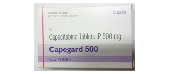 Capegard 500 Mg Tablets