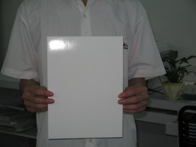 Clear inkjet water slide decal paper