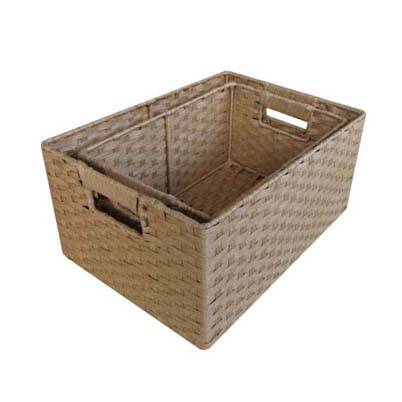 paper rope gift basket