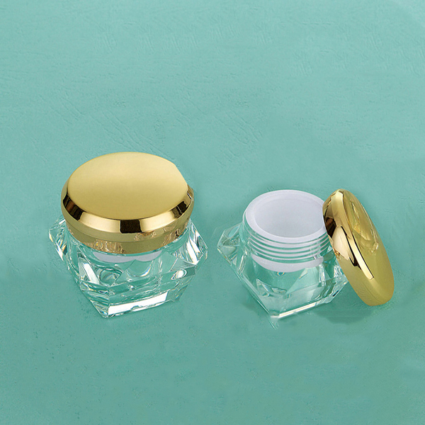 PMMA,PP,PS ABS cosmetic jar container holder