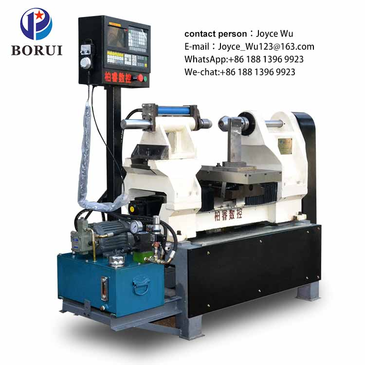 cnc metal Manual spinning machine in lathe manufacturers for India machinery BORUI Machine