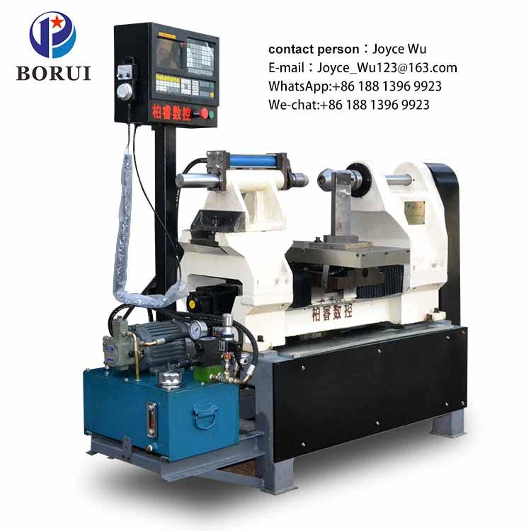 cnc metal Manual spinning machine in lathe manufacturers for India machinery BORUI Machine