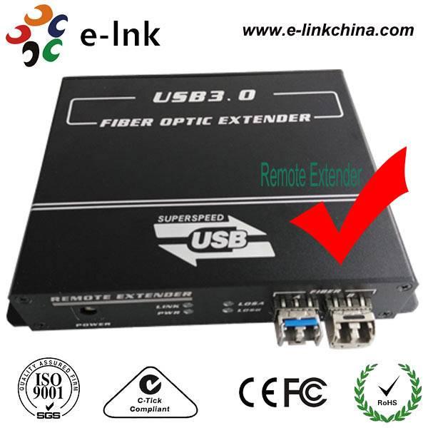 7-Port USB3.0 Fiber Extender