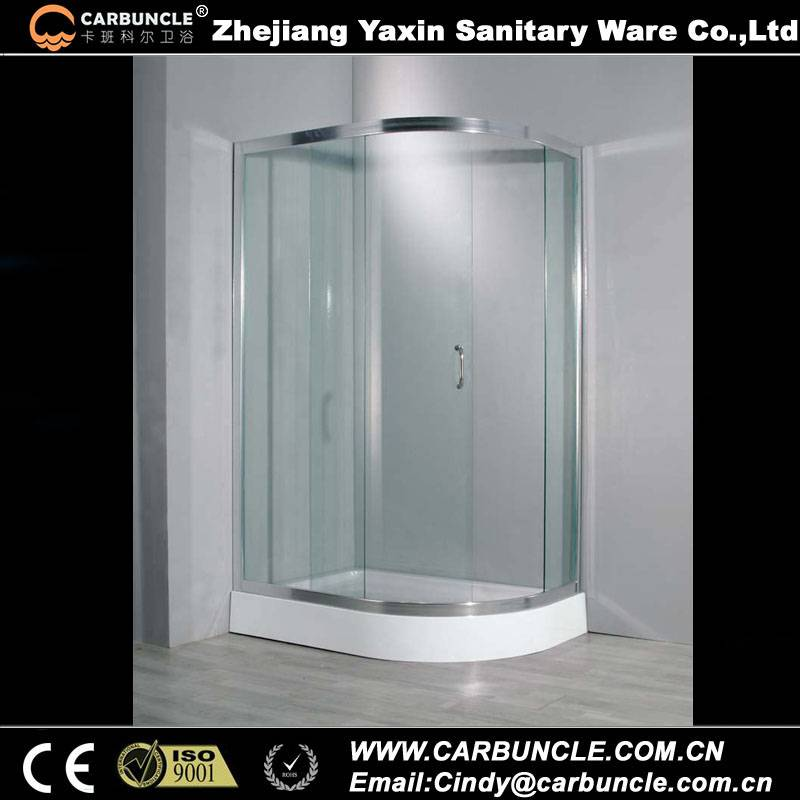 Carbuncle Quadrant Sliding Door Shower Enclosure